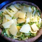 Lemon Brussels Sprout Pizza
