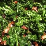 Vinegary Sausage and Kale