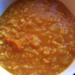 Curried Red Lentils