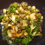 French Lentils with Chanterelles