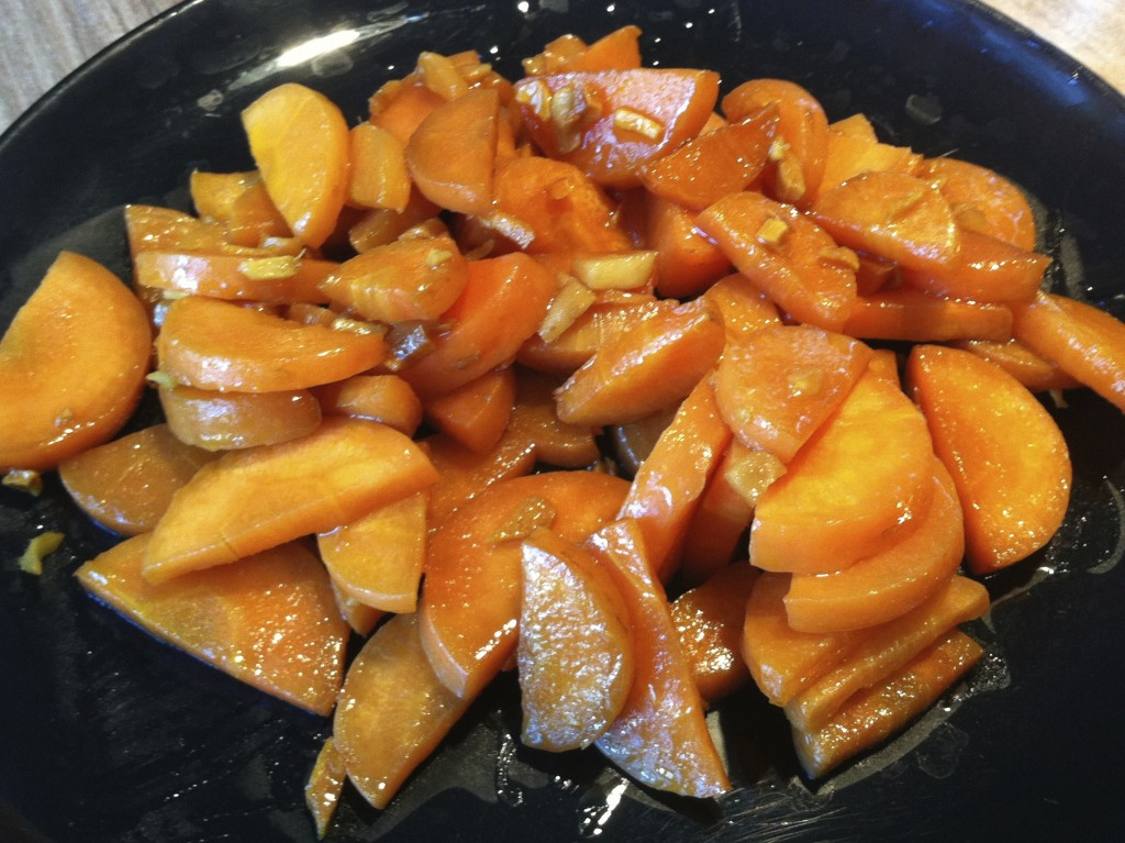 Turmeric and Ginger Glazed Carrots