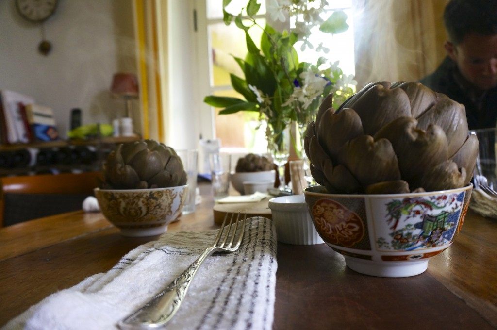 Perfect Steamed Artichokes
