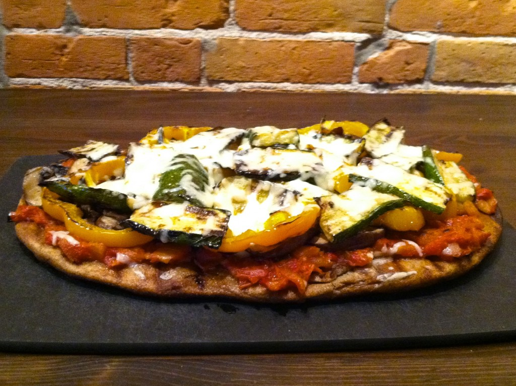 Grilled Sumer Veggie Pizza