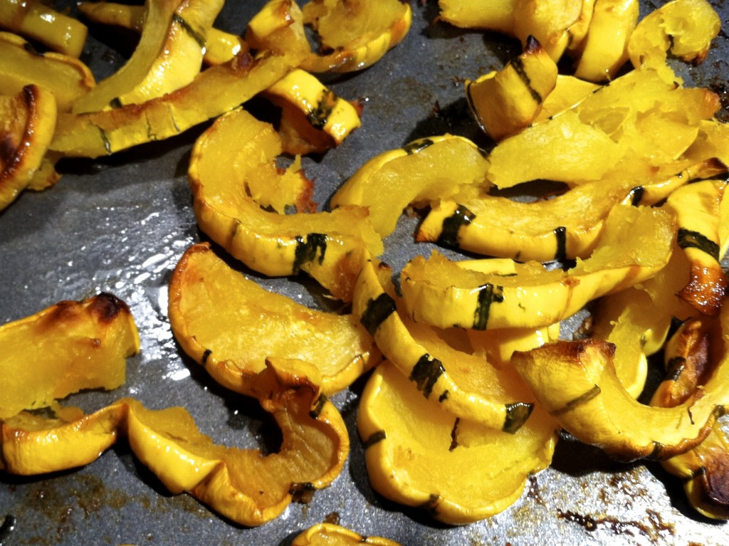 Maple Glazed Delicata Squash