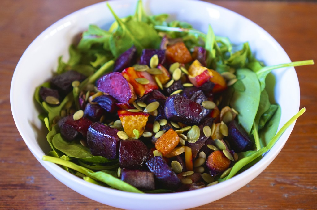 Roasted Root Vegetable Salad