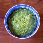 Dandelion Green Pesto