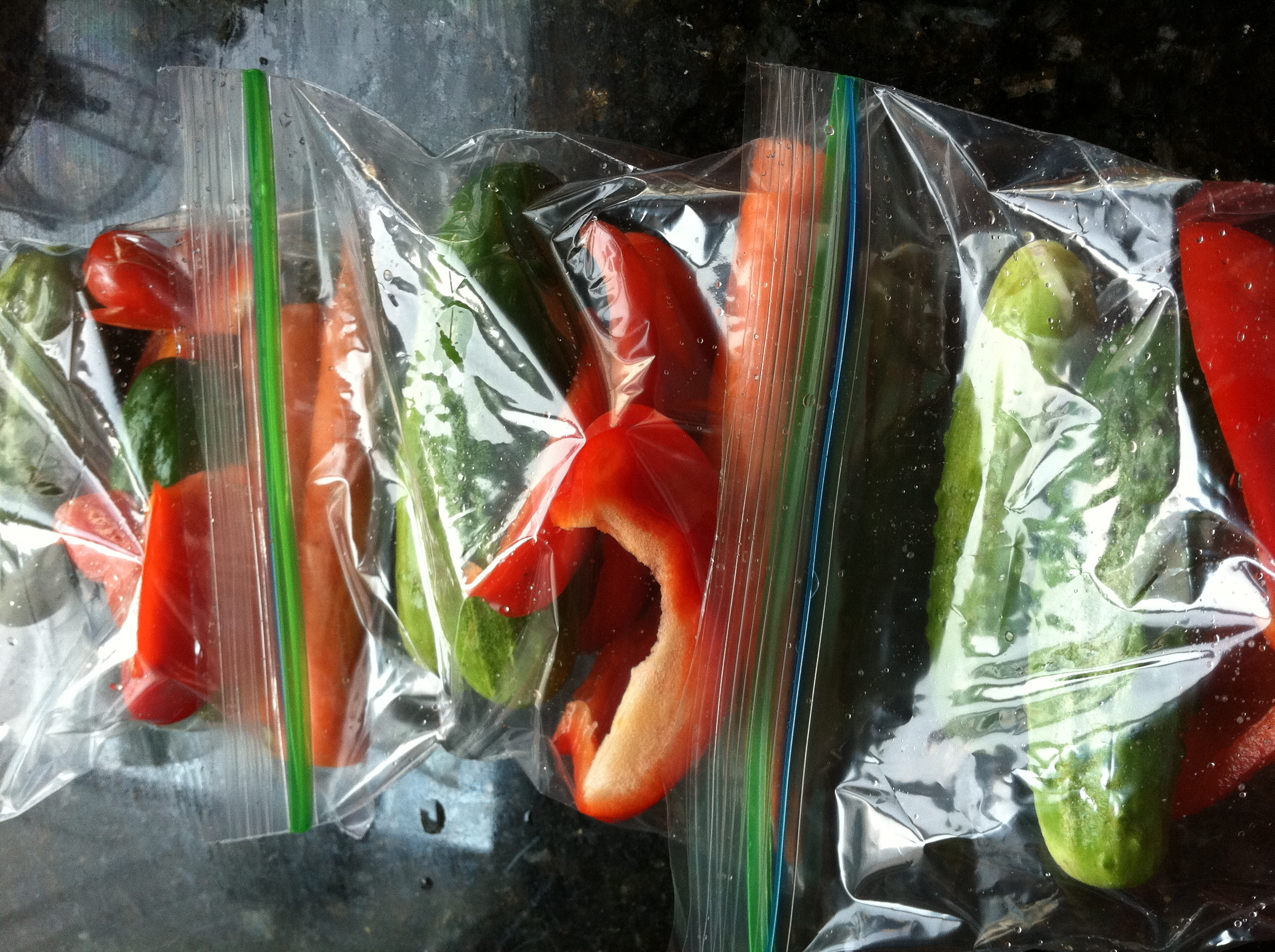 veggie snack bags, healthy snacks