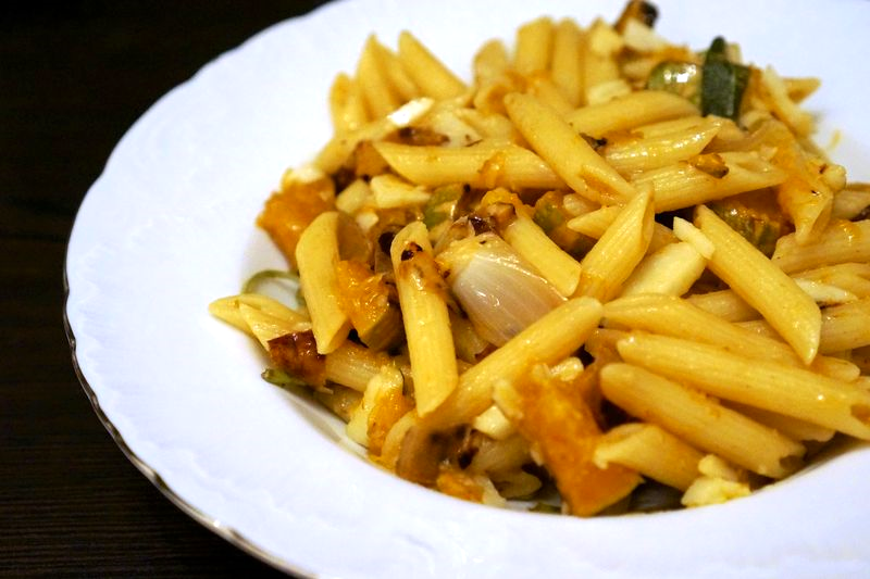 Quinoa Pasta with Butternut Squash and Sage