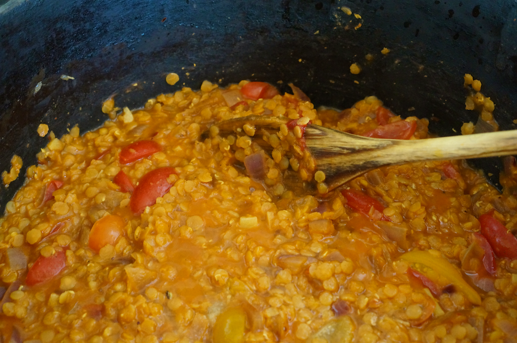 Spicy Red Lentils